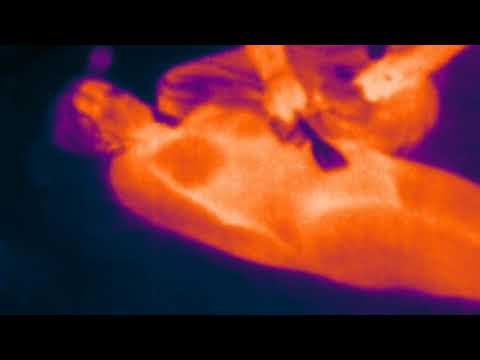 ASMR-female-Real Thermal Camera-Buzzing Massage-Tapping