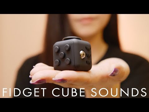 ASMR Fidget Cube Tapping and Clicking Sounds (No Talking)