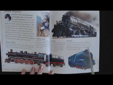ASMR 🚂🚂 Reading About Trains 🚂🚂 (Soft Spoken)