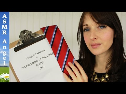 ASMR Donald Trump Inauguration - Personal Attention Role Play