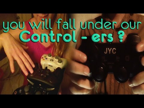ASMR Fast Tingly Game Controller Tapping, Scratching Collab with ASMR Weekly- No talking
