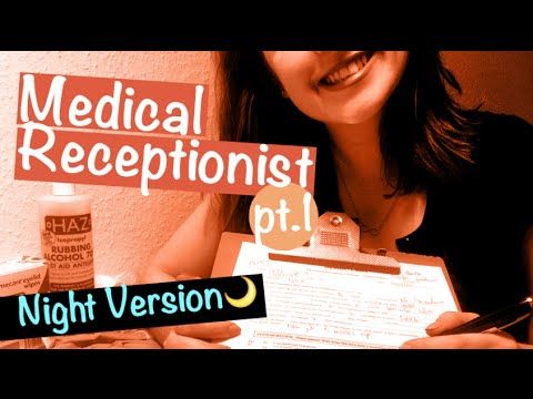 [Night Version🌙] Doctor Receptionist Roleplay 📋  Typing, writing