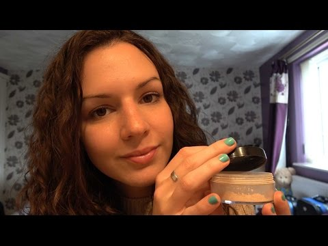 ASMR - Close up Lid Sounds with Soft Speaking