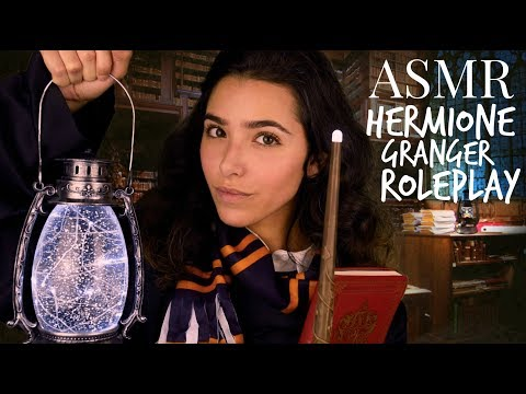 ASMR Hermione Roleplay | HARRY POTTER (Personal attention, Crinkly sounds, Light, Page turning