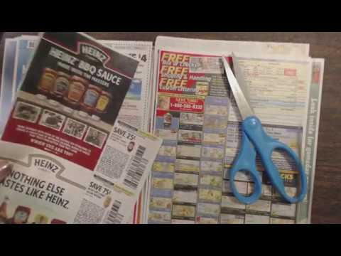 ASMR Whisper ~ Coupon Show & Tell + Clipping & Using Pointer