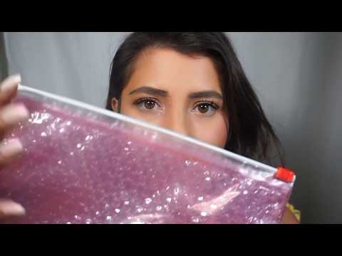 ASMR Rest for the Restless 2 (Makeup Pearls, GLOSSIER Bag Over the Mic + More!)