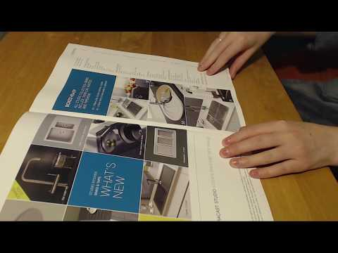 ASMR Catalogue And Brochure Page Turning Intoxicating Sounds Sleep Help Relaxation