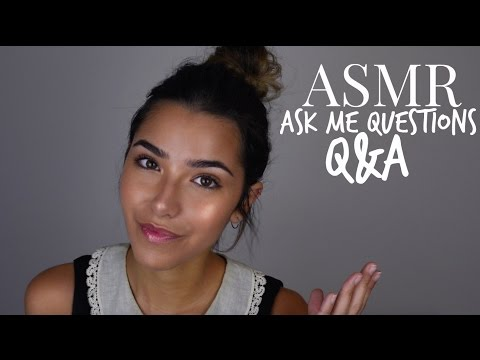 ASMR Q&A: Ask Me Your Questions!