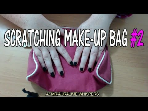 ASMR | SCRATCHING MAKE-UP BAG #2 - FAST SCRATCHING - REQUESTED VIDEO