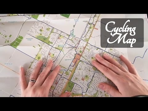 📜 ASMR Council Map Role Play 📜 (Where to Cycle) ☀365 Days of ASMR☀