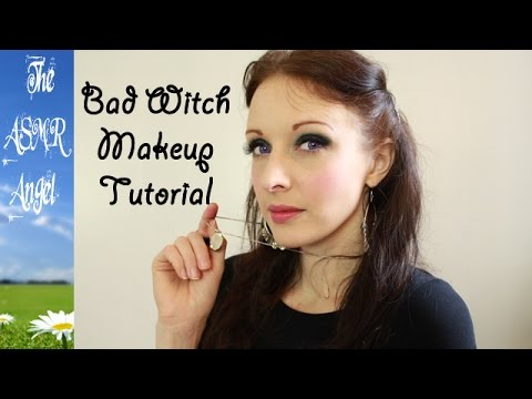 The Bad Witch Makeup tutorial - Whispered ASMR
