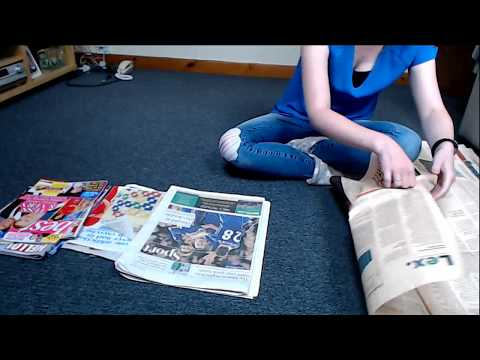 ASMR Sorting Through Newspapers Magazines Page Turning Intoxicating Sounds Sleep Help Relaxation