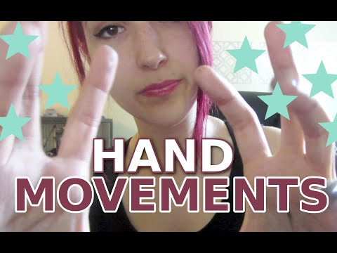 VISUAL ASMR ~ Slow & Fast Hand Movements for Visual ASMR Relaxation ~