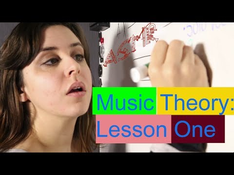 ASMR Softspoken Music Theory: Lesson 1