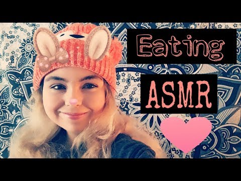 ASMR - Eating Unicorn Cupcake // Sharing Cupcake with You.