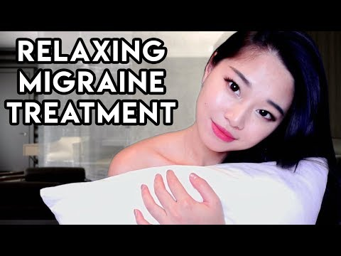 [ASMR] Relaxing Personal Attention - Treating Your Migraine Roleplay