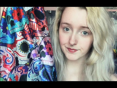 Tingly Collective Haul & Try-On - Crinkling, Fabric Scratching, Tapping - Soft Spoken - ASMR