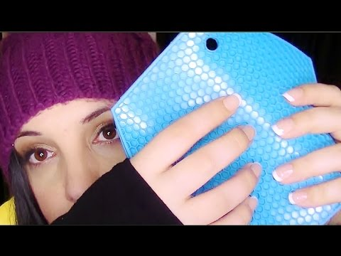 Binaural ASMR Tingle Blitz:  Adventures With Silicone For Tingles And Relaxation