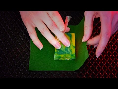 ASMR Wrapping Soap Samples
