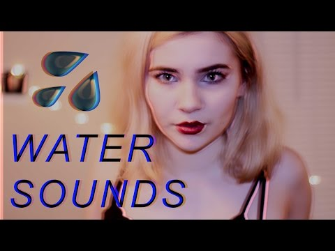 WETTEST ASMR VIDEO (somewhat epic water sounds)
