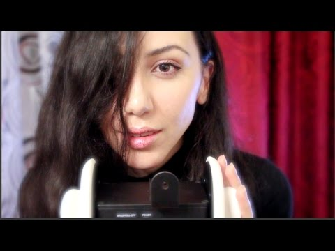 ASMR Ear to Ear Whisper - BINAURAL - Playing with Your EARS