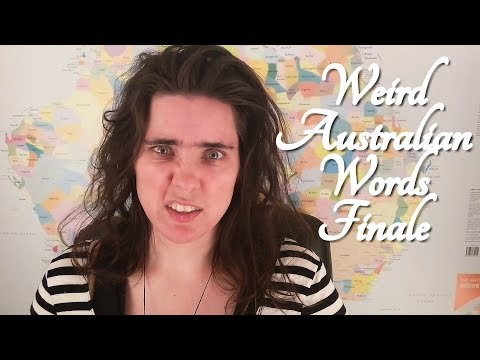 ASMR Weird Australian Words Finale (With Safety Tip!)