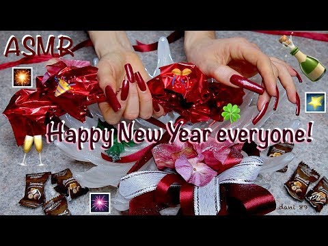 🥂Happy New Year Everyone! 🍾 🎧 New soft & intense ASMR 🎆 Perfectly relaxing! 🍀