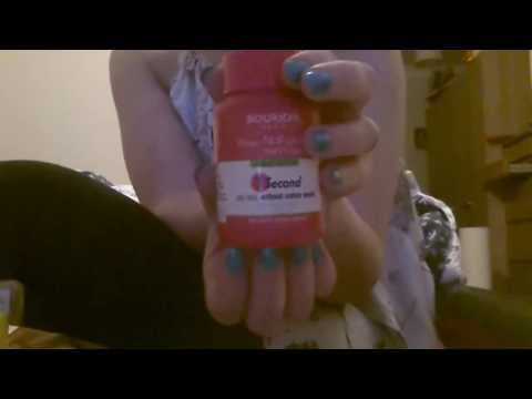 ASMR Soft Spoken Beauty Products Haul * Nail Tapping , Scratching ....*