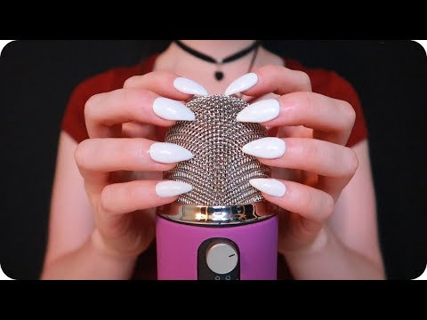 ASMR MIC SCRATCHING with NEW Blue Yeti Pro ♥️ HIGHLY Requested ~