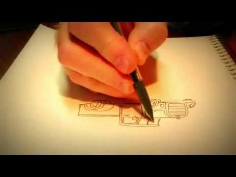 Drawing with a pencil - ASMR
