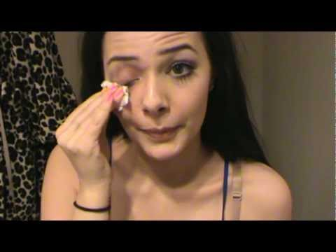 Taking The Day's Makeup Off Ramble (ASMR Whisper) +Some Nail Tapping