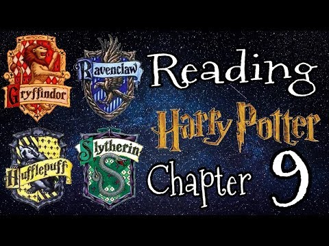 ASMR ~ Reading Harry Potter and the Philosopher's Stone // Chapter 9 // Part 1