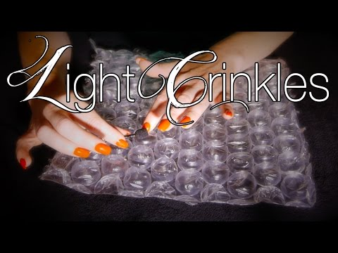 ASMR Whisper with Bubbles, Crinkles & Soft Sticky Fingers
