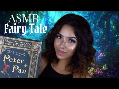 ASMR Thursday Fairy Tale: Peter Pan (Soft Spoken, Page Turning, Paper Sounds..)