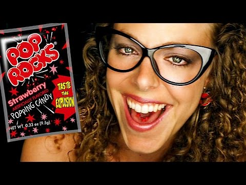 ASMR Mouth Sounds – POP ROCKS! Eating Candy Binaural Ear to Ear Whisper