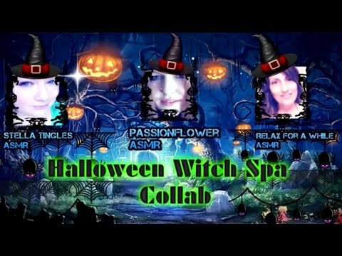 Witch Spa: Halloween Collab Video with Passion Flower and Stella Tingles