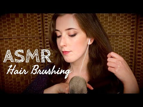 ASMR | Tingly Hair Brushing and Braiding, with Tapping and Scratching for Maximum Relaxation