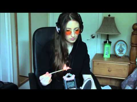 ASMR Only matches and then whispering, mic blowing and awm awm awm