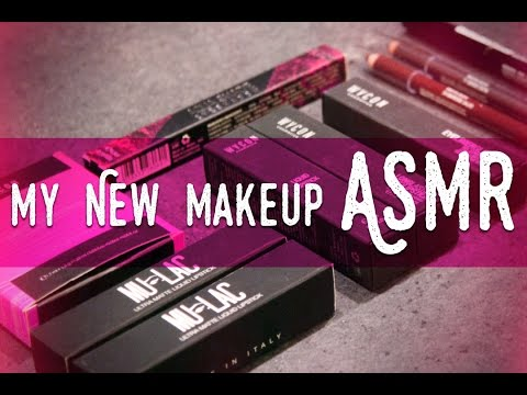 ASMR ita - Whispering Show and Tell (New Make Up Products)