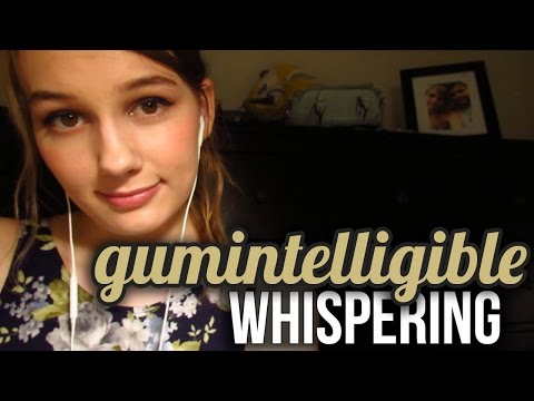 [BINAURAL ASMR] 20+ Minutes of Gumintelligible Whispering :) (w/ breathing sounds)