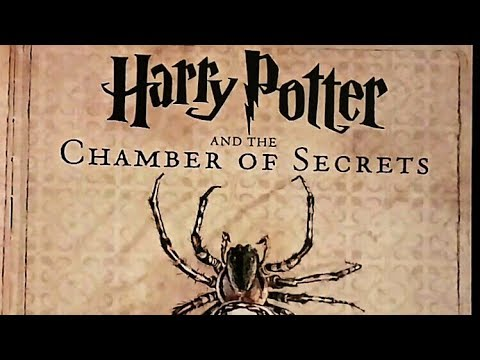 ASMR Illustrated Harry Potter and the Chamber of Secrets