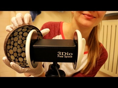 ASMR ♥ Fast Tapping w/ Gloves | 3D SOUND