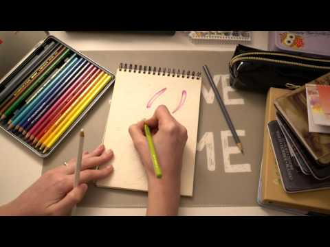 ASMR Drawing an Easter Bunny | Whispering in Catalan
