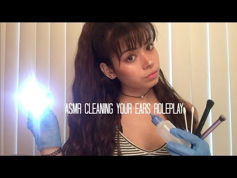 ASMR Cleaning your Ears Roleplay