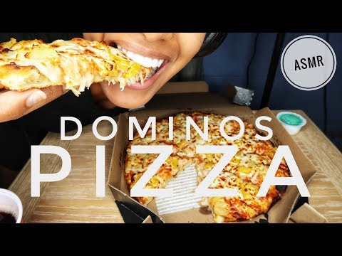 ASMR Pizza   SOFT CHEWY EATING SOUNDS + GULPING   No Talking (Subscriber Request)