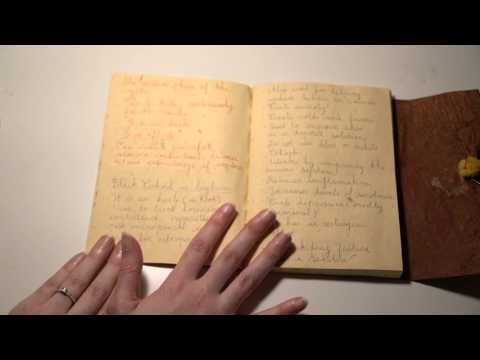 ASMR Reading Herbs & Plants Natural Healing Journal | Recycled Pages | Whispering | Scratching