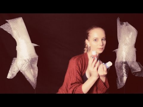 ASMR Bubble Wrap Microphones ~ Crinkles, Soft Spoken and Whispered ~