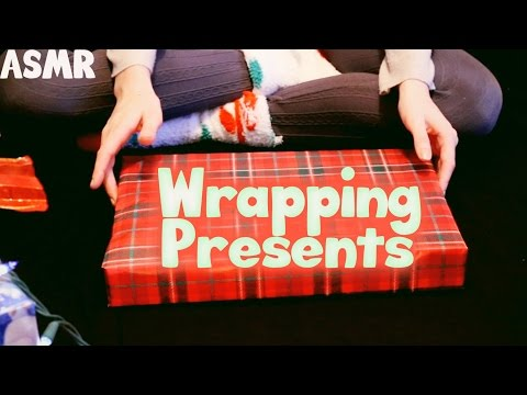 ASMR 🎁 Relaxing Present Wrapping Tutorial 🎁