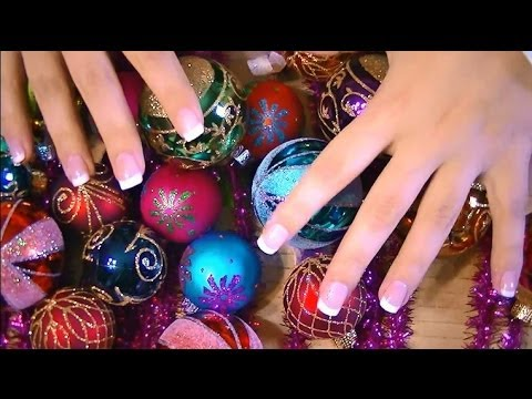 Binaural (3D) ASMR Holiday Decor and Christmas Ornaments For Your Relaxation And Listening Pleasure