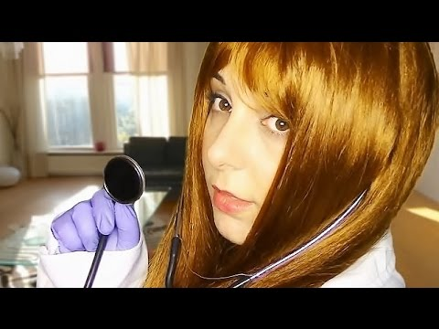 """Testing Your Alignment: Binaural ASMR """"Doctor"""" Examination With Your Shoulder Angel And Devil"""